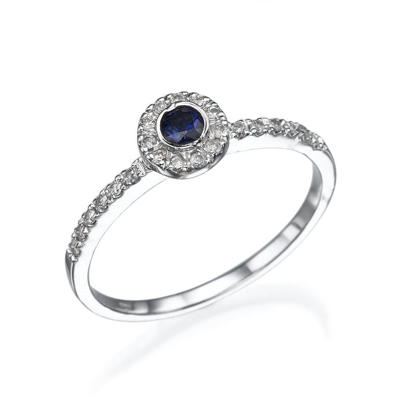 sapphire claddagh rings celtic promise wedding and blue ring