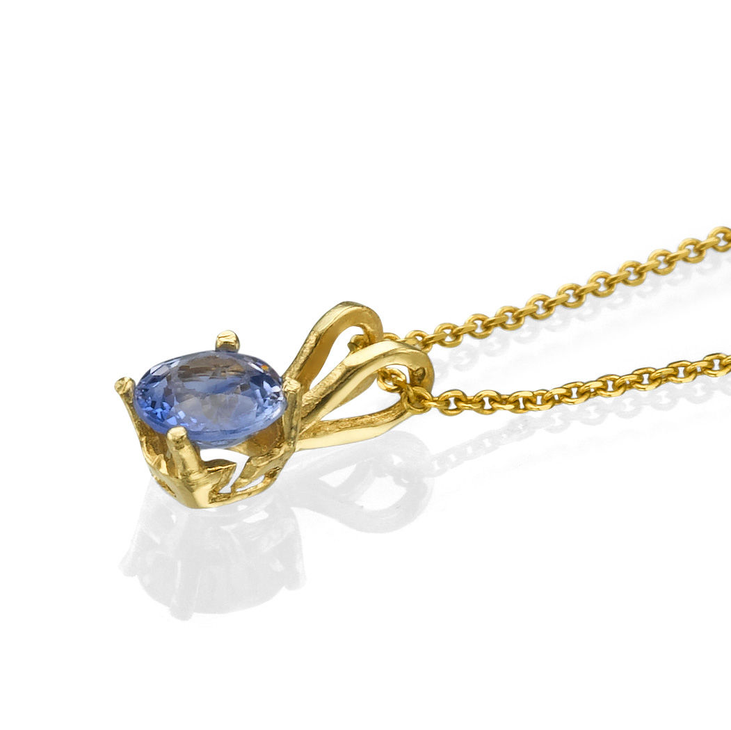14k yellow gold pendant with sapphire 050 round aaa light blue 14k yellow gold pendant with sapphire 050 round aaa light blue aloadofball Choice Image