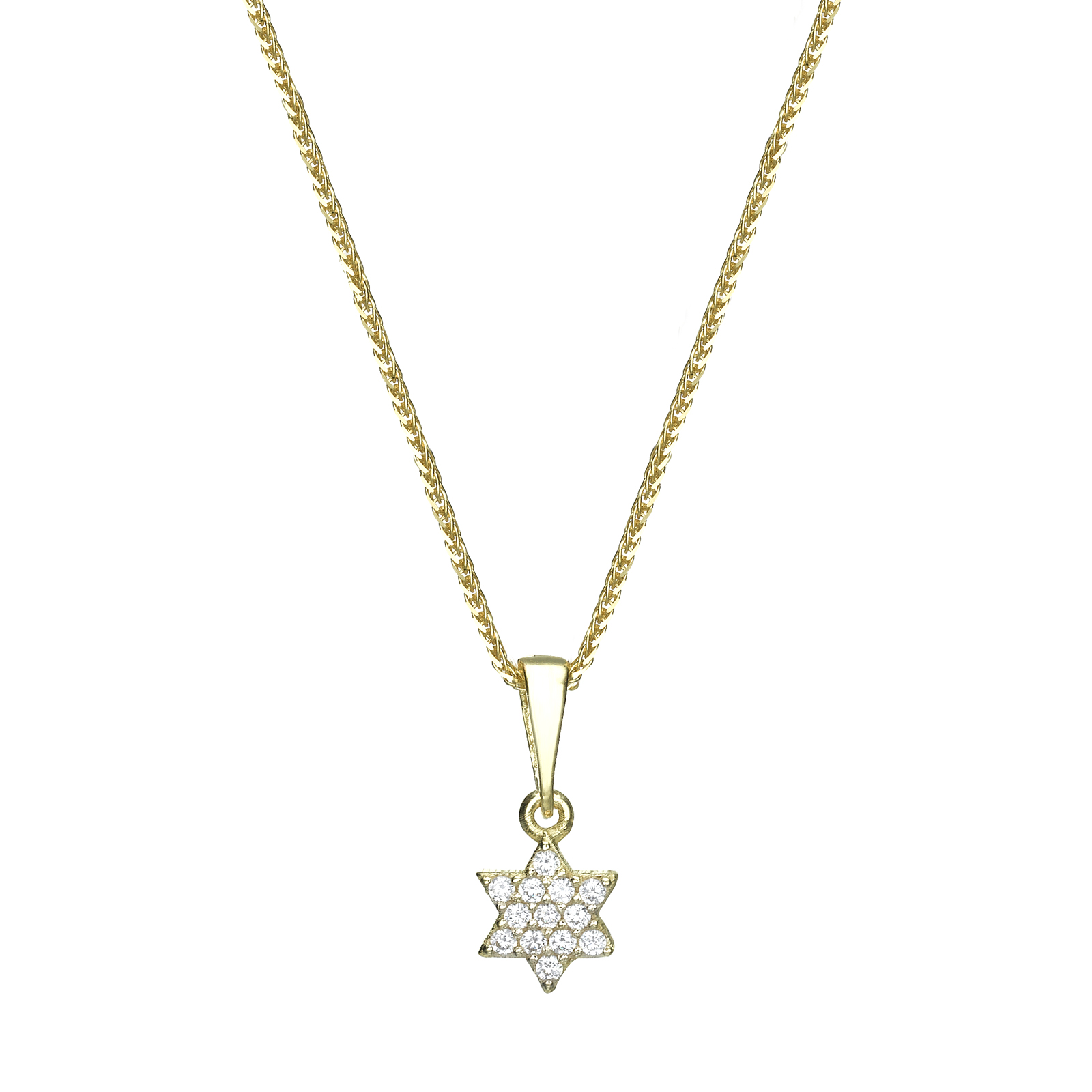 Gold Pendant - Star of David