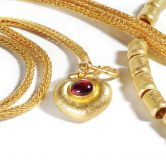 Gentle Hand - Knitted Gold Chain