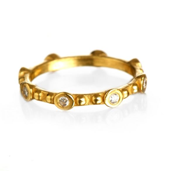 Dots & Diamonds Ring