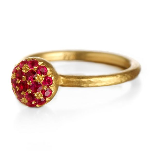 Ruby Berry Ring