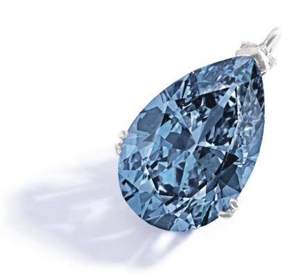 The Zoe Blue Diamond