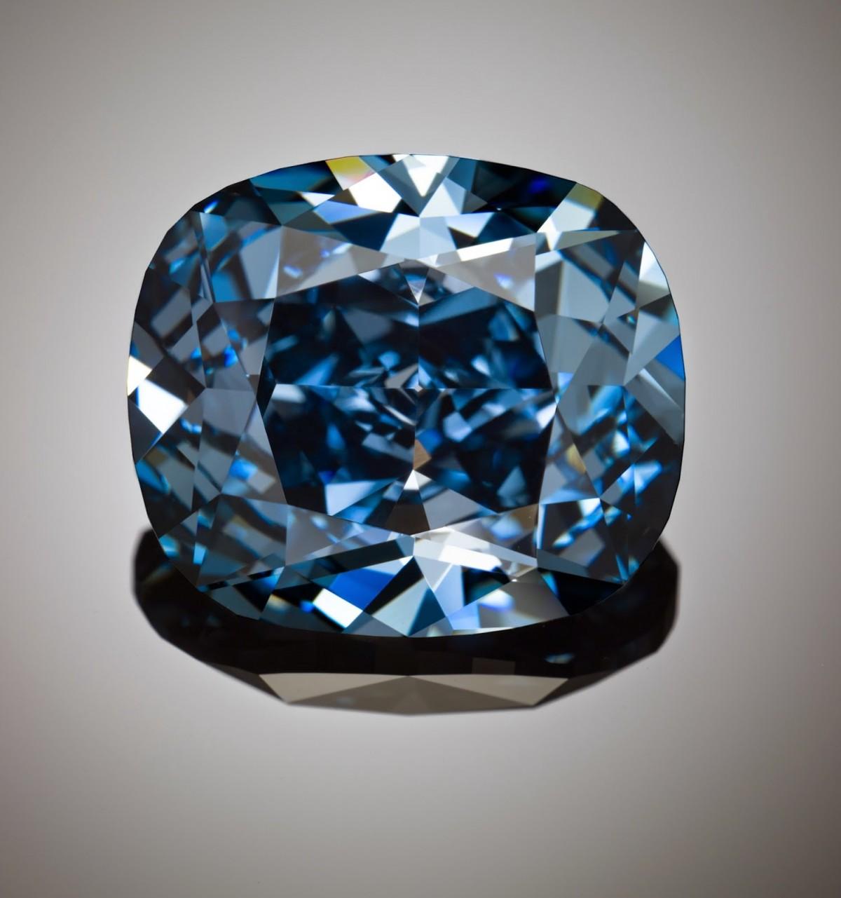 Blue moon diamond reddiam
