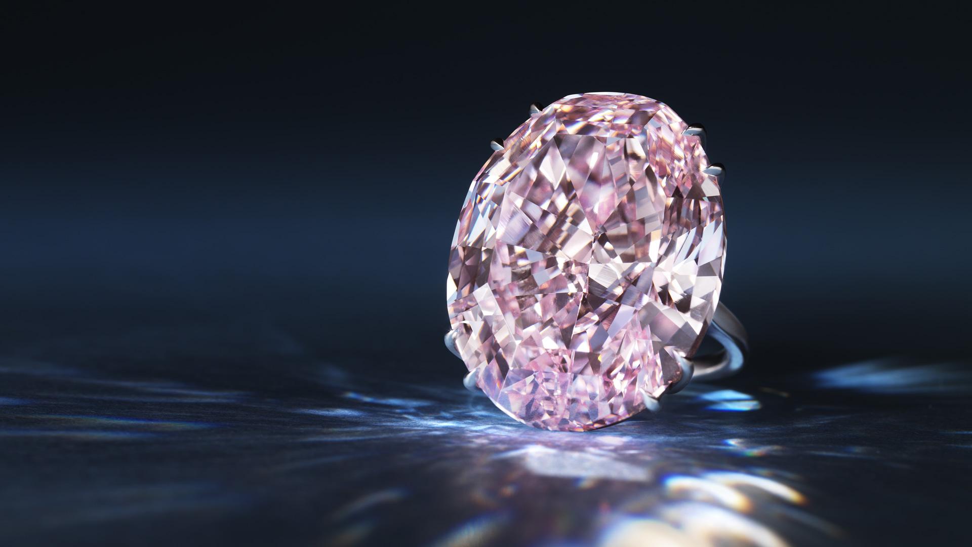 Pink star diamond reddiam