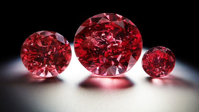 Red Argyle Diamonds Auction