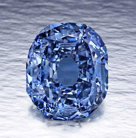 Graff blue diamond
