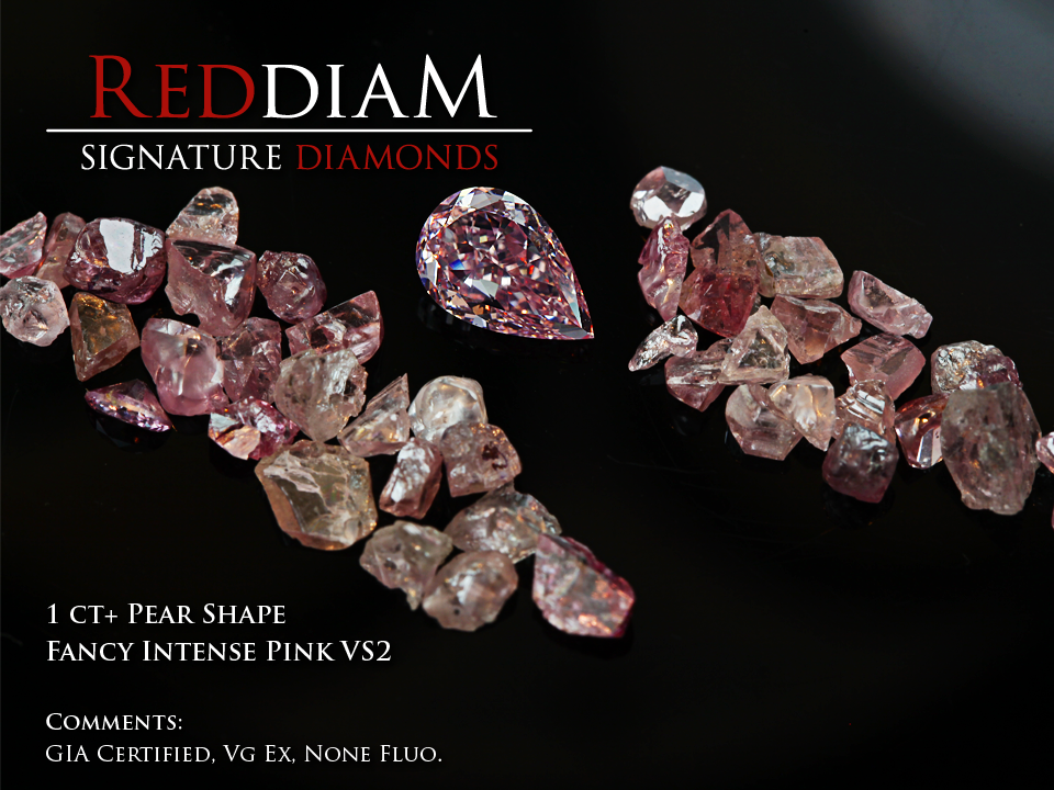 1ct pink diamond