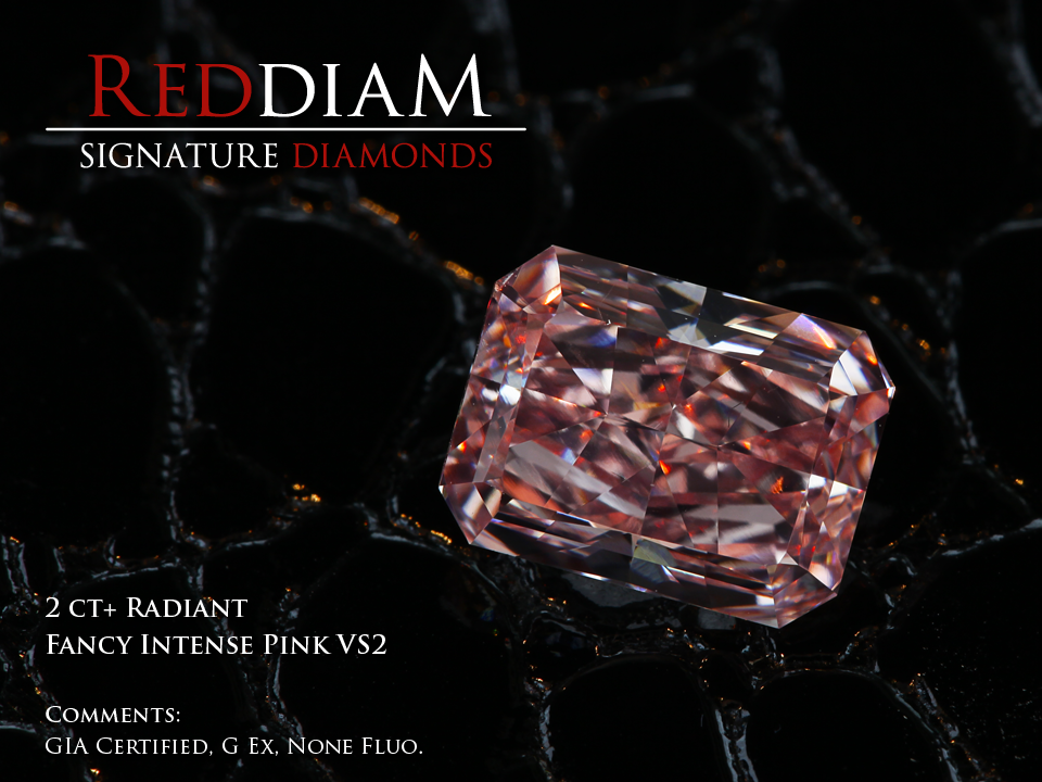 2ct pink diamond