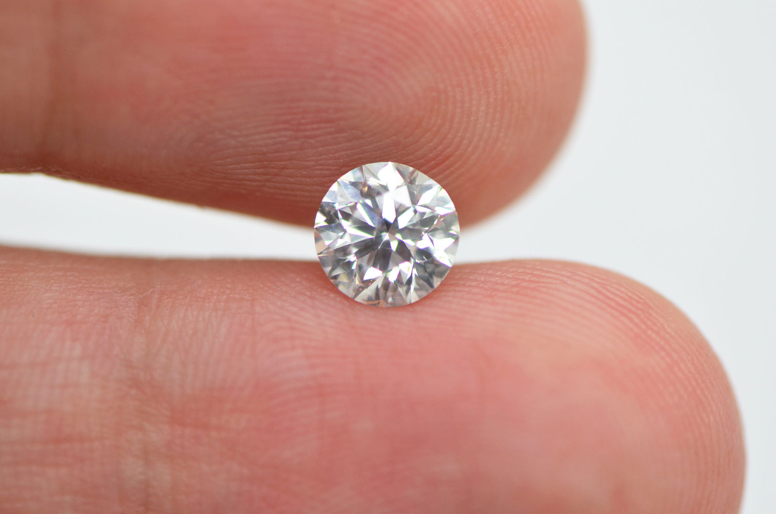 1 Carat Round Shape Real Diamond Eye Clean E/SI1 Loose Enhanced For ...