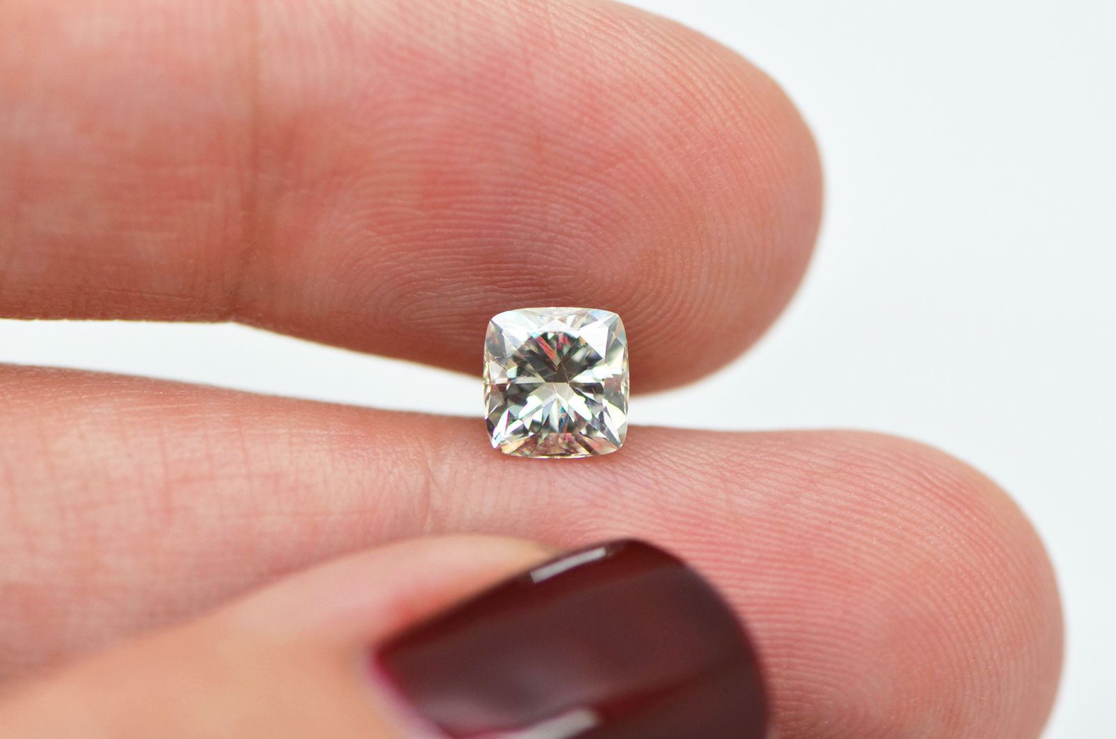 1.06 Carat Cushion Shaped H/VS2 Natural Loose Enhanced Diamond For ...