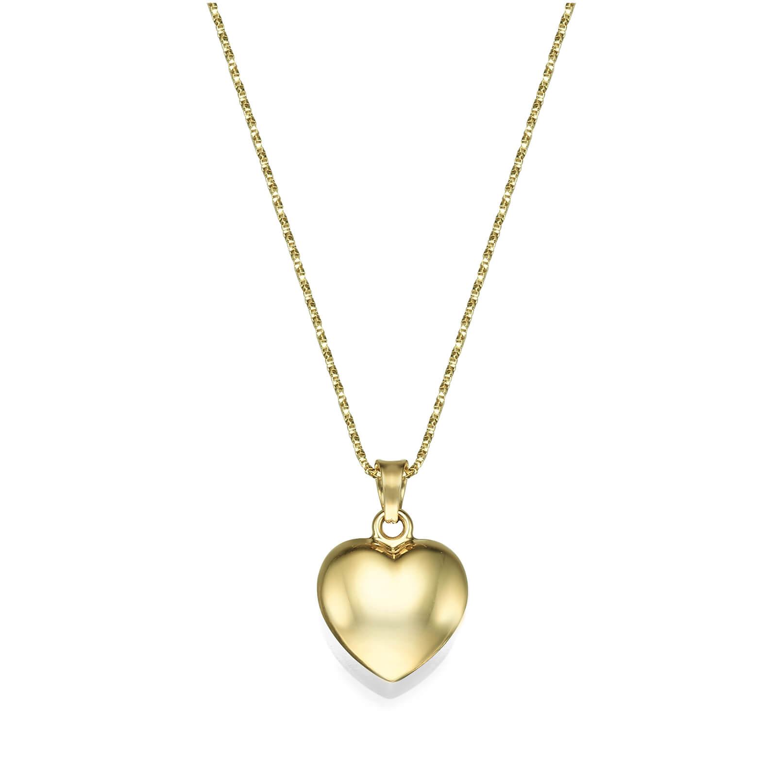שרשרת זהב לב